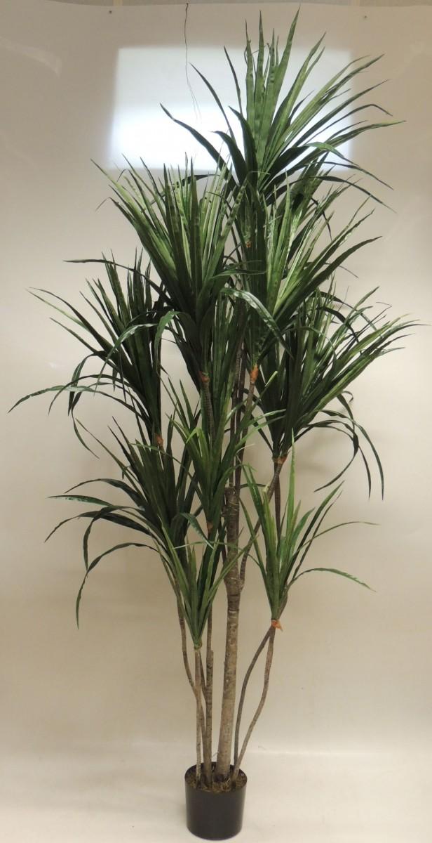 yucca palme kunstpflanze im topf 210cm ebay. Black Bedroom Furniture Sets. Home Design Ideas