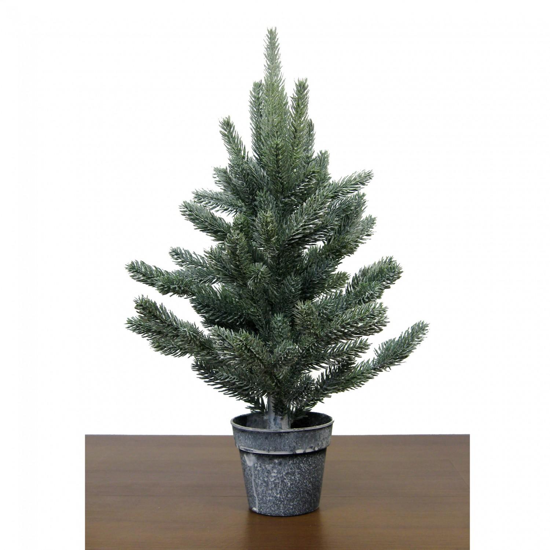 k nstlicher tannenbaum mit schnee 45cm im topf kaufen bei. Black Bedroom Furniture Sets. Home Design Ideas