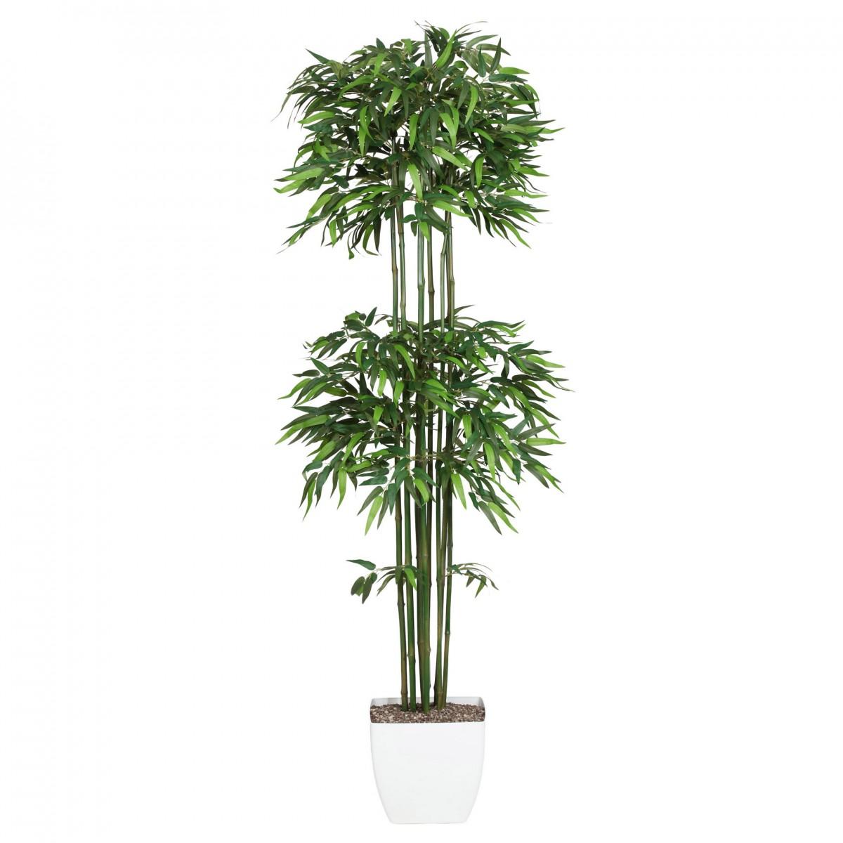 bambus kunstpflanze 180cm naturstamm im topf kaufen bei. Black Bedroom Furniture Sets. Home Design Ideas