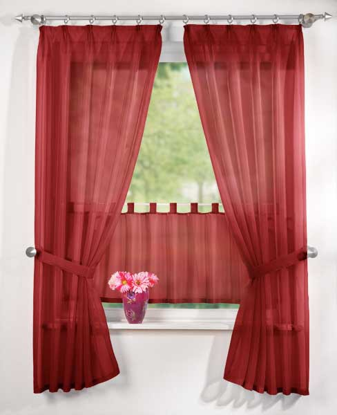 k che gardinen bordeaux kreative ideen f r ihr zuhause. Black Bedroom Furniture Sets. Home Design Ideas