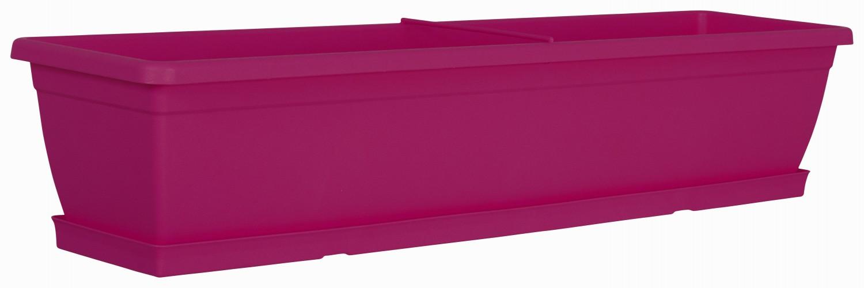 blumenkasten toscana colours 80 cm aus kunststoff mit. Black Bedroom Furniture Sets. Home Design Ideas