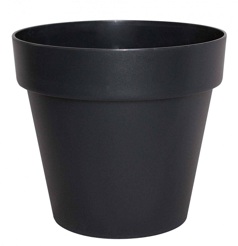 pflanzgef bertopf cube rund aus kunstoff gartencenter pflanzgef e t pfe. Black Bedroom Furniture Sets. Home Design Ideas