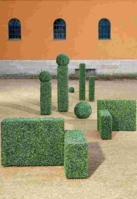 Buchsbaumkugel Kunstpflanze 23 cm