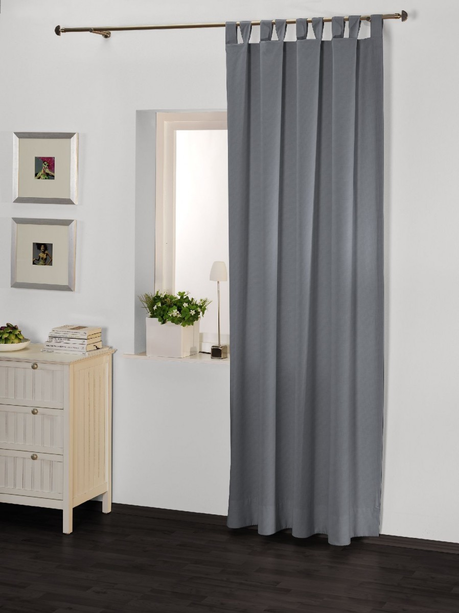 schlaufenschal dolce vita 140 x 255 cm in silber sch ner wohnen gardinen stoffe store s schals. Black Bedroom Furniture Sets. Home Design Ideas
