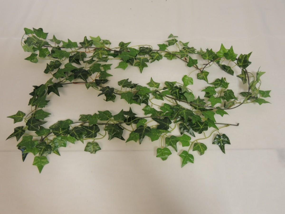 Künstliche Efeugirlande Girlande Efeu 180 cm lang in grün