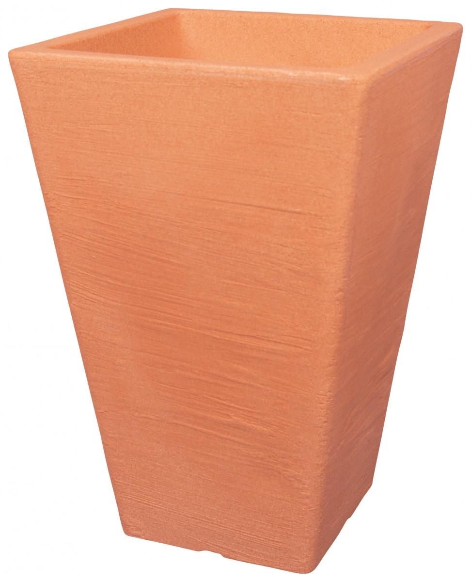 pflanzk bel livorno in vasenform aus kunststoff gartencenter pflanzgef e terraoptik. Black Bedroom Furniture Sets. Home Design Ideas